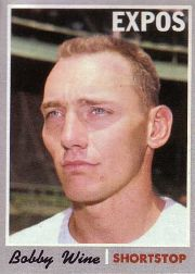 1970 Topps Baseball Cards      332     Bobby Wine