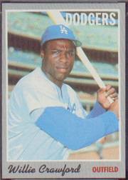 1970 Topps Baseball Cards      034      Willie Crawford