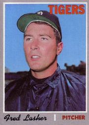 1970 Topps Baseball Cards      356     Fred Lasher