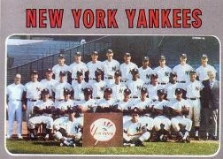 1970 Topps Baseball Cards      399     New York Yankees TC