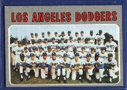 1970 Topps Baseball Cards      411     Los Angeles Dodgers TC