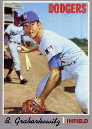 1970 Topps Baseball Cards      446     Billy Grabarkewitz RC