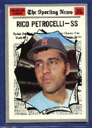 1970 Topps Baseball Cards      457     Rico Petrocelli AS