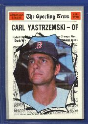 1970 Topps Baseball Cards      461     Carl Yastrzemski AS