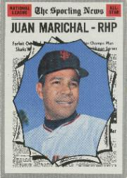 1970 Topps Baseball Cards      466     Juan Marichal AS