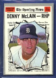 1970 Topps Baseball Cards      467     Denny McLain AS