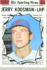1970 Topps Baseball Cards      468     Jerry Koosman AS