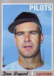 1970 Topps Baseball Cards      473     Don Bryant