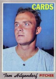 1970 Topps Baseball Cards      482     Tom Hilgendorf RC