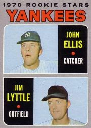 1970 Topps Baseball Cards      516     Rookie Stars-John Ellis RC-Jim Lyttle RC