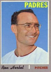 1970 Topps Baseball Cards      526     Ron Herbel