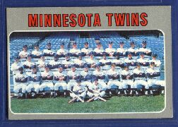 1970 Topps Baseball Cards      534     Minnesota Twins TC