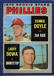 1970 Topps Baseball Cards      539     Rookie Stars-Denny Doyle RC-Larry Bowa RC