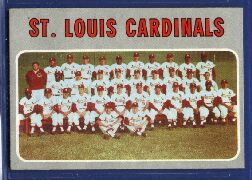 1970 Topps Baseball Cards      549     St. Louis Cardinals TC