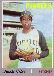 1970 Topps Baseball Cards      551     Dock Ellis