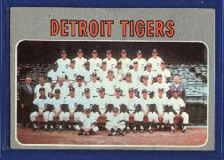 1970 Topps Baseball Cards      579     Detroit Tigers TC
