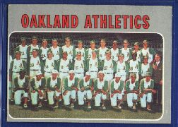 1970 Topps Baseball Cards      631     Oakland Athletics TC
