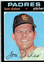 1971 Topps Baseball Cards      106     Tom Dukes
