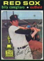 1971 Topps Baseball Cards      114     Billy Conigliaro