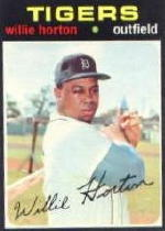 1971 Topps Baseball Cards      120     Willie Horton