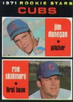 1971 Topps Baseball Cards      121     Jim Dunegan/Roe Skidmore RC