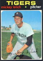 1971 Topps Baseball Cards      133     Mickey Lolich