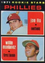 1971 Topps Baseball Cards      138     Joe Lis/Willie Montanez RC