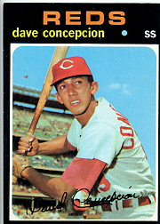 1971 Topps Baseball Cards      014      Dave Concepcion RC