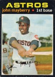 1971 Topps Baseball Cards      148     John Mayberry