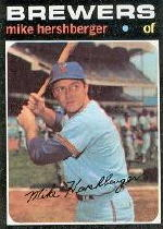 1971 Topps Baseball Cards      149     Mike Hershberger