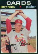 1971 Topps Baseball Cards      158     Jerry Reuss