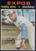 1971 Topps Baseball Cards      171     Bobby Wine