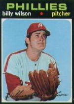1971 Topps Baseball Cards      192     Billy Wilson