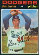 1971 Topps Baseball Cards      207     Alan Foster