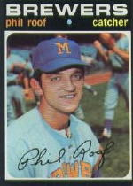 1971 Topps Baseball Cards      022      Phil Roof