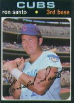 1971 Topps Baseball Cards      220     Ron Santo