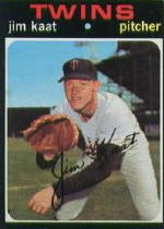 1971 Topps Baseball Cards      245     Jim Kaat