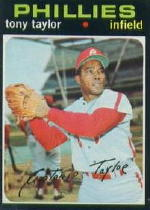 1971 Topps Baseball Cards      246     Tony Taylor