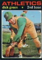 1971 Topps Baseball Cards      258     Dick Green