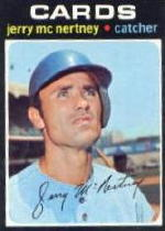 1971 Topps Baseball Cards      286     Jerry McNertney