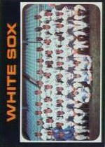 1971 Topps Baseball Cards      289     Chicago White Sox TC