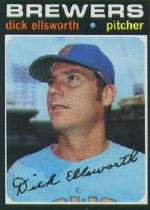 1971 Topps Baseball Cards      309     Dick Ellsworth