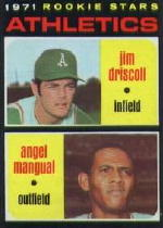 1971 Topps Baseball Cards      317     Jim Driscoll RC/Angel Mangual