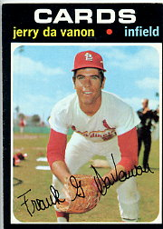1971 Topps Baseball Cards      032      Jerry DaVanon