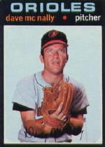 1971 Topps Baseball Cards      320     Dave McNally
