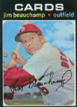 1971 Topps Baseball Cards      322     Jim Beauchamp