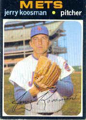 1971 Topps Baseball Cards      335     Jerry Koosman