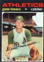 1971 Topps Baseball Cards      338     Gene Tenace