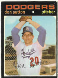 1971 Topps Baseball Cards      361     Don Sutton