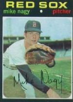 1971 Topps Baseball Cards      363     Mike Nagy